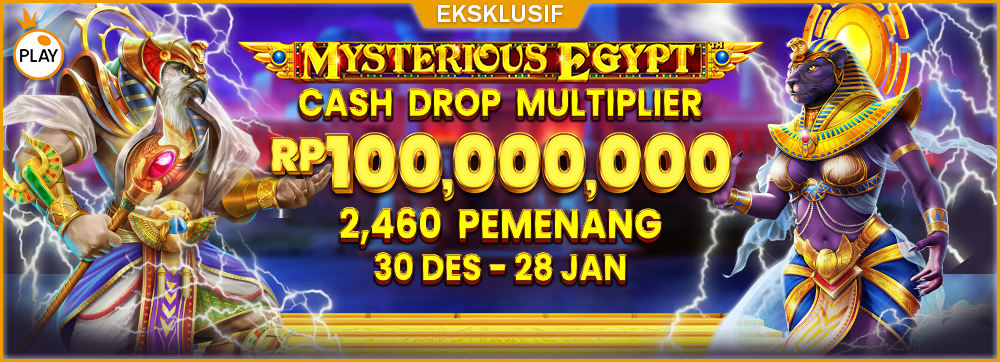 PP Mysterious Egypt Cash Drop Multiplier